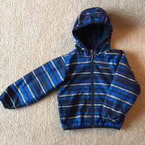 Columbia 💙 Boys 4T Windbreaker 💨 Jacket